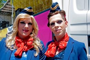 Ein tolles Paar an der Prideparade 2012