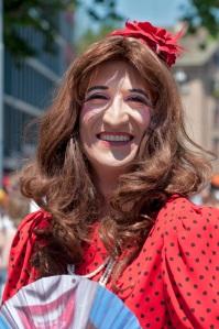 Super zurechtgemacht und viel herzlichkeit, Prideparade 2012