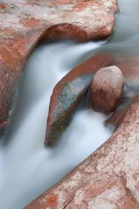 Steinsformation am Schwarzwasser.