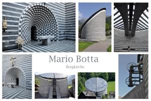 Diese architektonische Meisterleistung von Mario Botta befindet sich in Mogno, im Valle Maggia, Kanton Tessin.