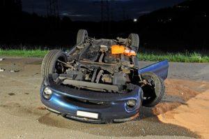 Schutzengel bei Autounfall