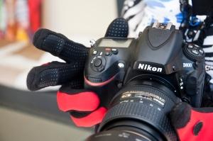 Fischerhandschuhe eignen sich gut zum Fotografieren. Das Neopren schützt auch vor Nässe.