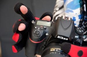 Fischerhandschuhe zum Fotografieren ! 3 Fingerkuppen lassen sich bequem wegklappen.