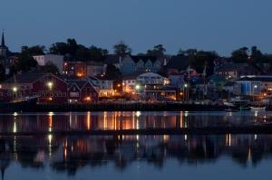 Traumhaft schönes Städchen, Lunenburg, Nova Scotia, Canada