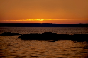 Sunset at Indian Harbor, Nova Scotia