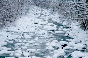 Sihl im Winter