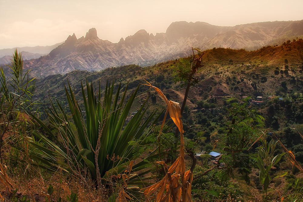Insel Santiago auf CapeVerde
